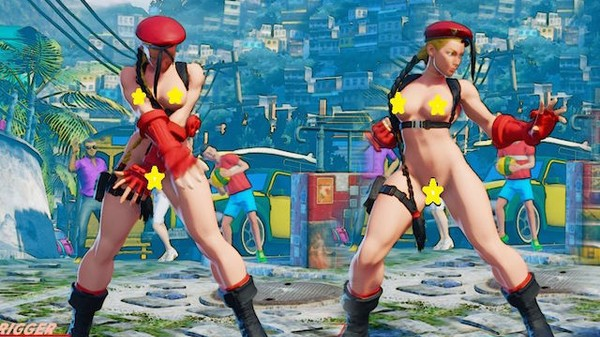 Yup, There Are 'Street Fighter V' Nude Mods Now