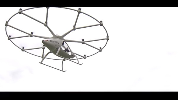 The Volocopter Is Our Flying Car