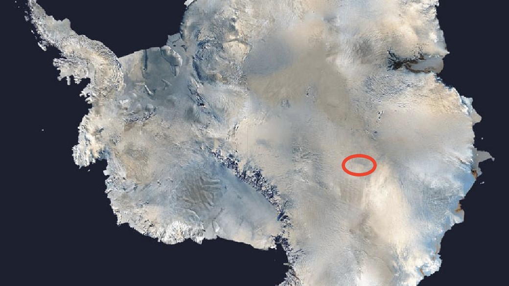 Giant Subglacial Lake Could Hold Ancient Lifeforms