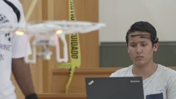 University of Florida Holds First Brain-Powered Drone Race