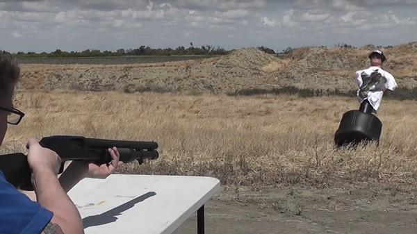 This Is What Happens When You Shoot a Kevlar Vest at Point-Blank Range