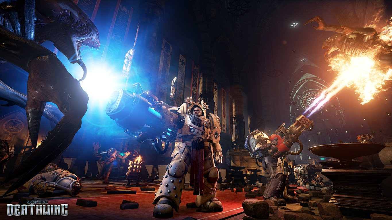 'Space Hulk: Deathwing' Looks Like the Shooter Warhammer 40,000 Deserves
