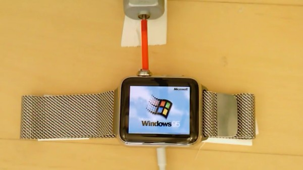 The Best Apple Watch App Is Windows 95