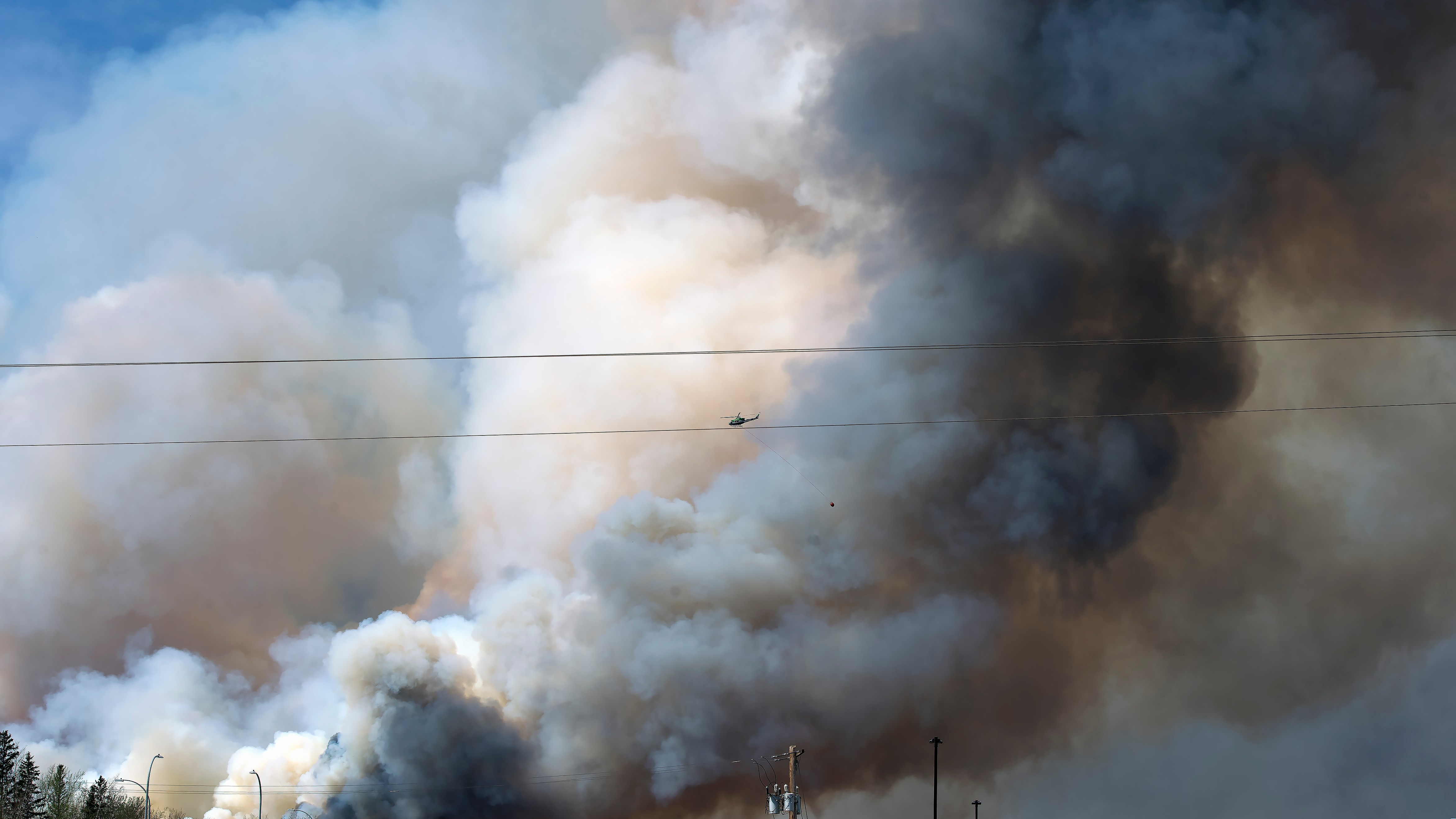 The Fort McMurray Wildfire Isn't 'Ironic.' This Is How Climate Change Works