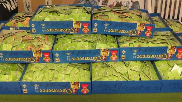 With More Than 10,000 Pieces, This Is the Largest 'Carcassonne' Game Ever