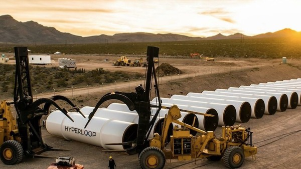 The First Public Hyperloop Propulsion Test Is Wednesday