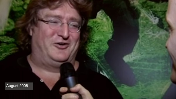 Watch Gabe Newell Avoid Talking About 'Half-Life 3' for Almost a Decade