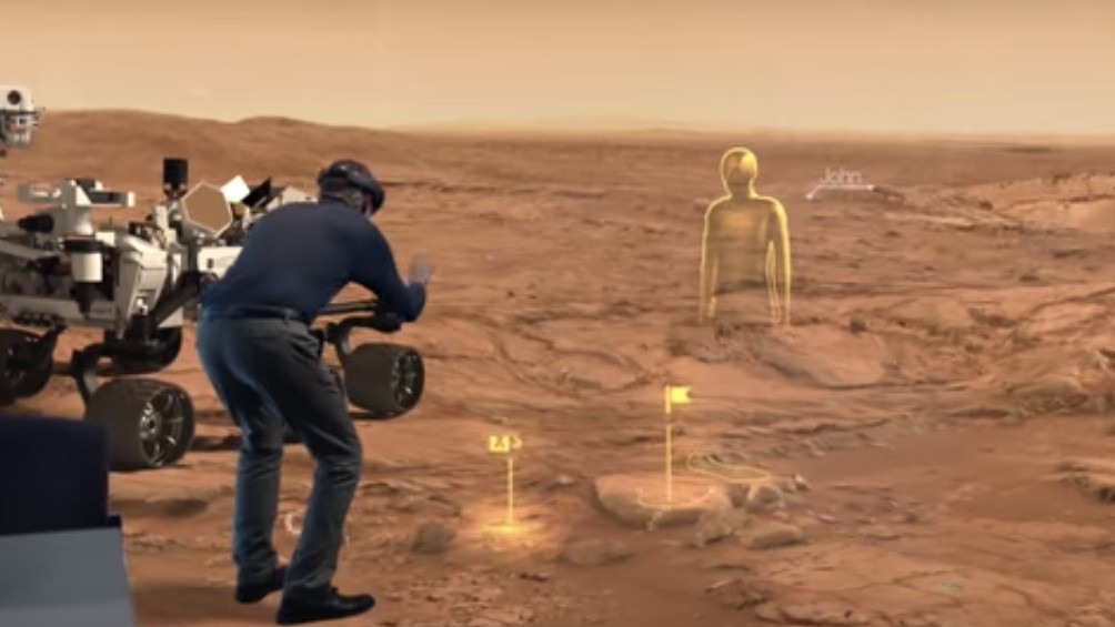 Scientists Can Virtually Wander Around Mars for Miles with HoloLens
