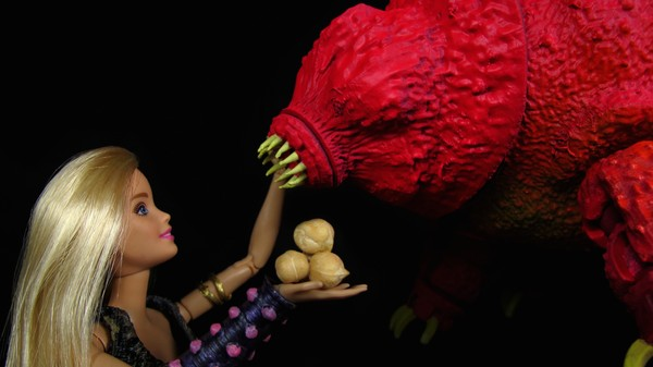 Barbie Now Has a Giant Tardigrade Steed