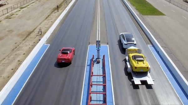 Tesla Model X Throws Down In a Supercar Drag Race