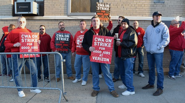 Verizon, Unions Reach 'Agreement in Principle' to End Strike