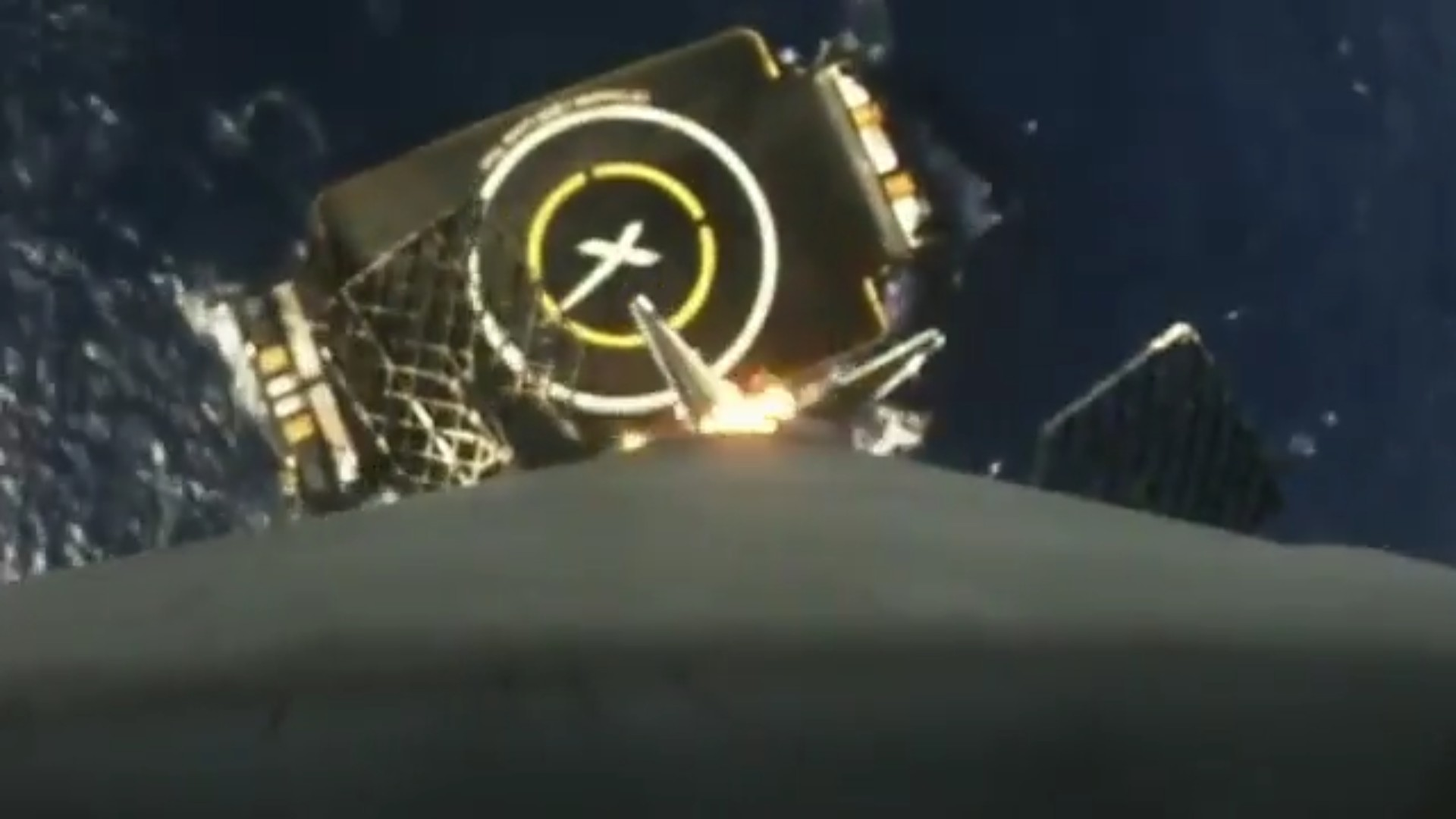 This Is the Best View of SpaceX's Latest Barge Landing