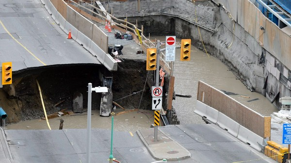 That Massive Sinkhole in Ottawa Might Be Due to 'Quick Clay'