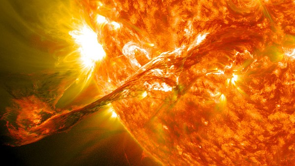 The Key to Life on Earth May Have Been Projectile Sun Barf