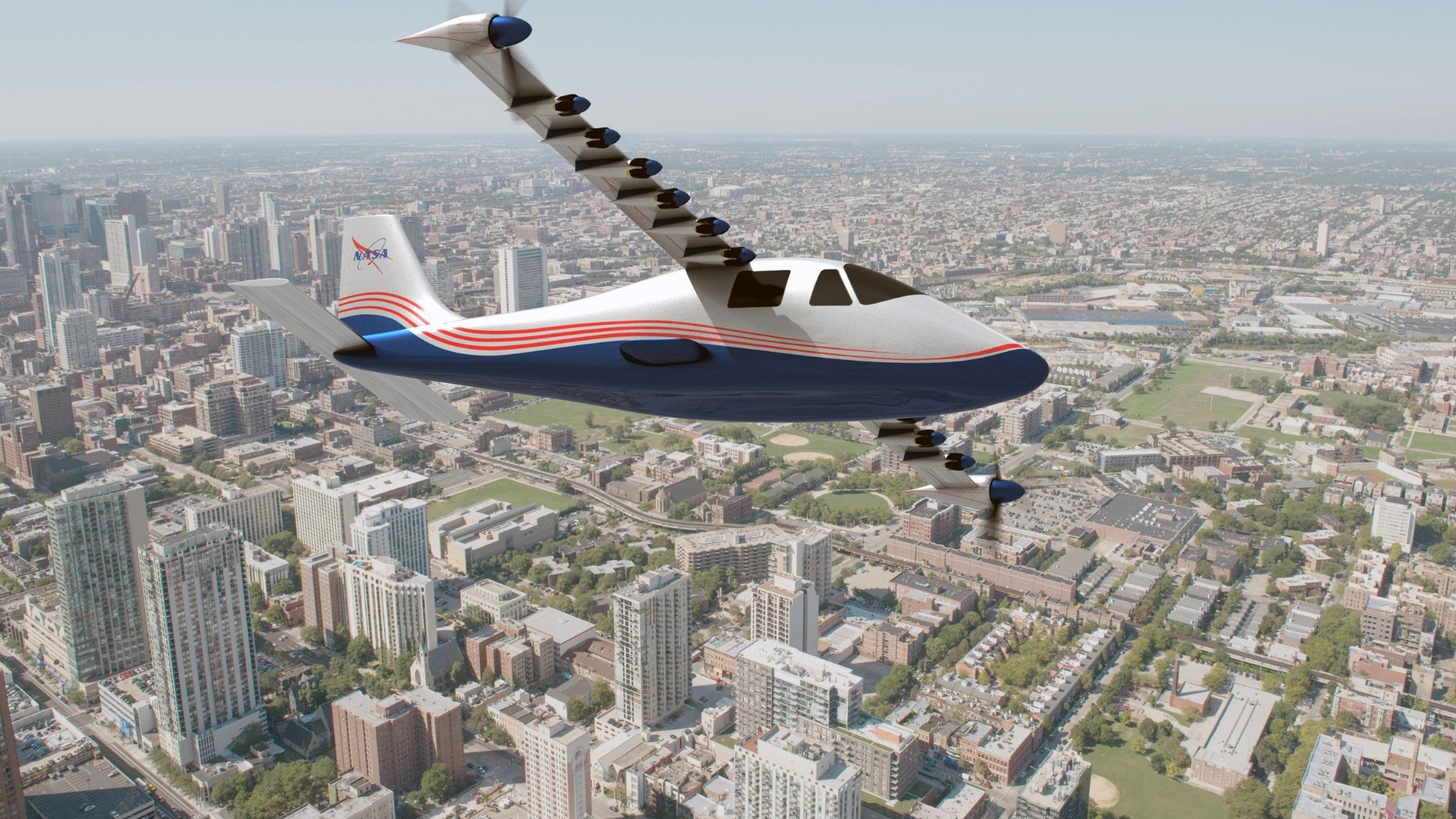 Meet NASA's New Electric Plane: 'Maxwell'