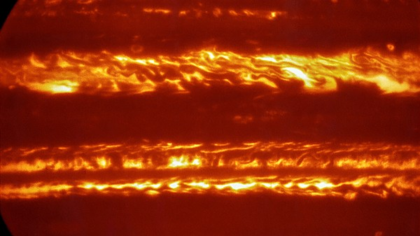 Check Out These Images of Jupiter's Glowing Cloud Layers