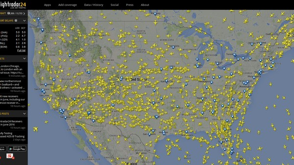 The Site That Lets You Track Planes In Real-Time Wants to Track Drones Too