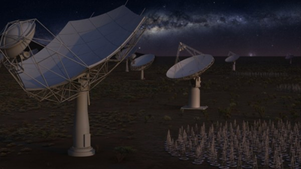 World's Most Powerful Radio Telescope Discovers 1300 New Galaxies in Trial Run