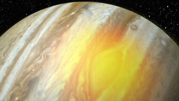 Sound and Gravity Waves Combine to Heat Jupiter's Great Red Spot