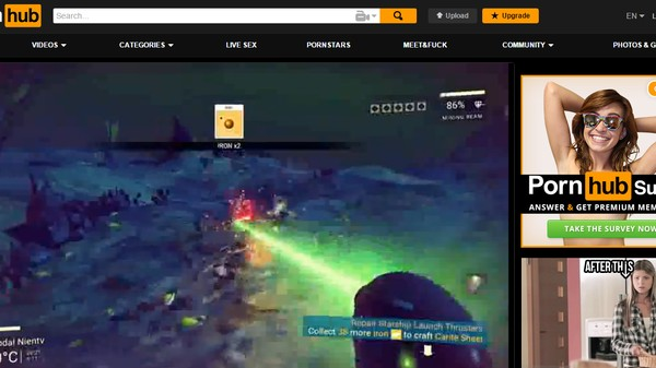 Chased Off of YouTube, Leaked 'No Man's Sky' Footage Runs to Pornhub
