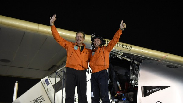 Solar Impulse 2 Flew Around the World Without A Drop Of Fuel