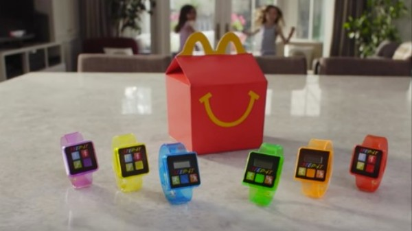 McDonald's Offers Activity-Tracking Wearables with Their 500 Calorie Happy Meals