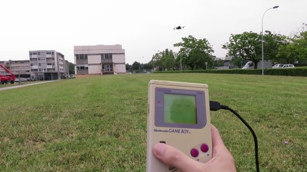 How to Fly a Drone with a Game Boy Classic