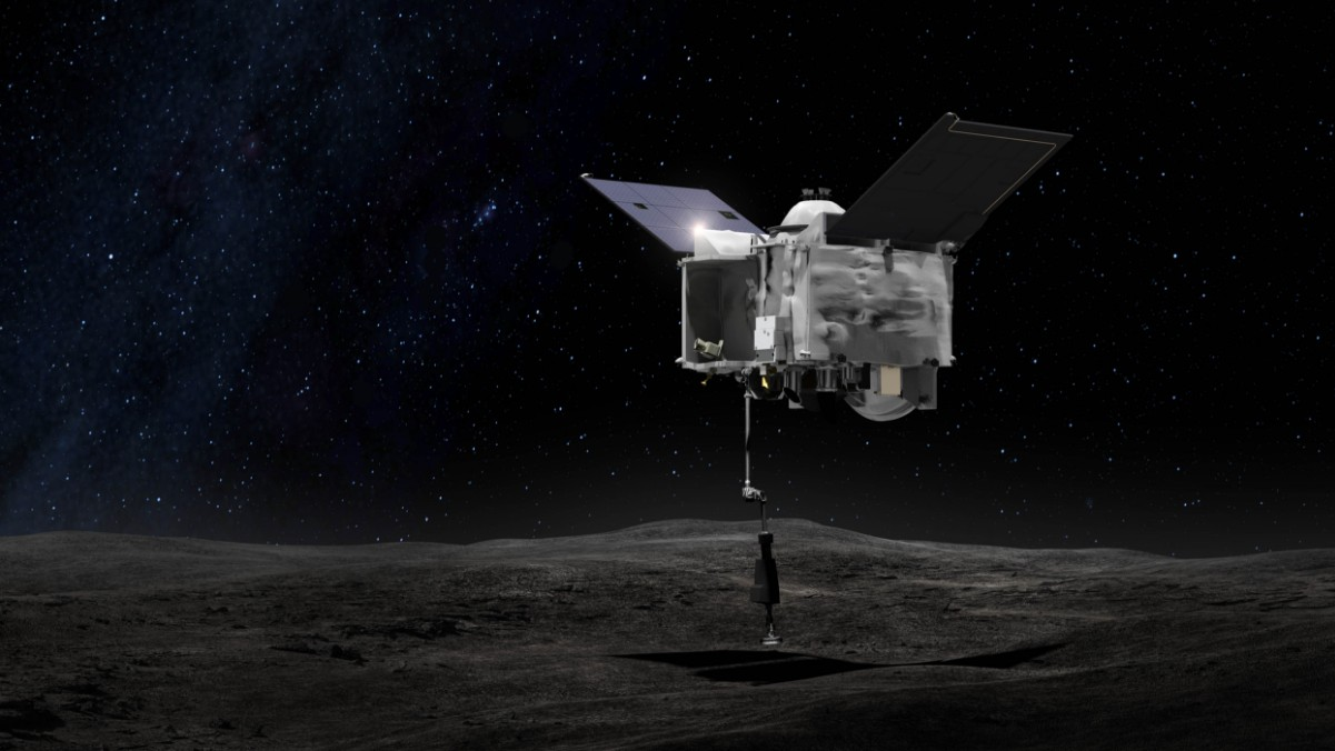 NASA's Latest Mission Will Attempt To Visit an Asteroid—And Bring a Piece Home