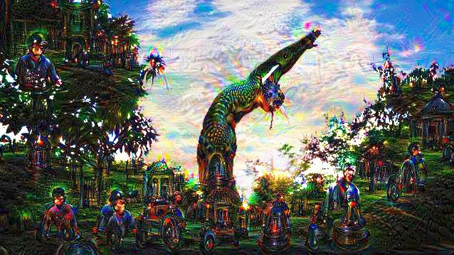 Here's How Google Deep Dream Generates Those Trippy Images