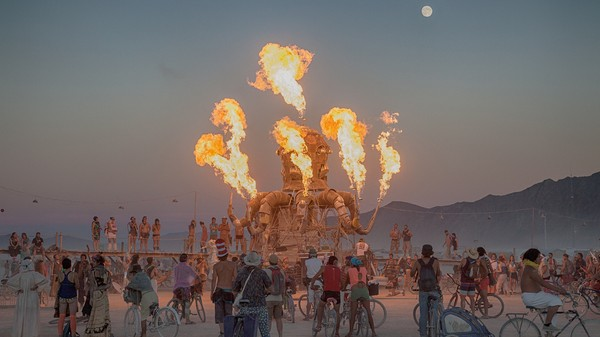 Burning Man's Supposed to Be Off the Grid, But Burners Are Looking for Pokémon