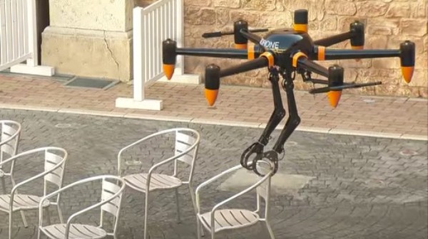 The Robotic Arms on This New Drone Could Be Very Useful