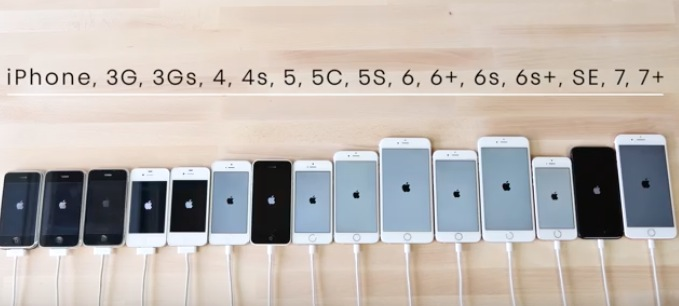 all the iphones ever made a speed test comparing all the iphones made 16565
