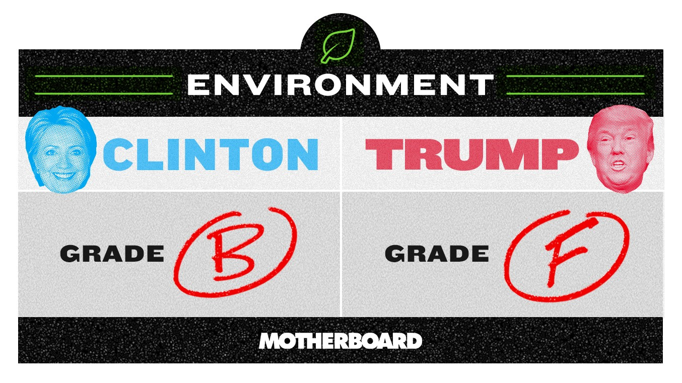 Trump vs. Clinton: Who's Better on the Environment?