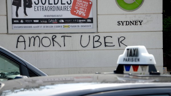 France's Government-Backed Uber Replacement Should Thrill Uber