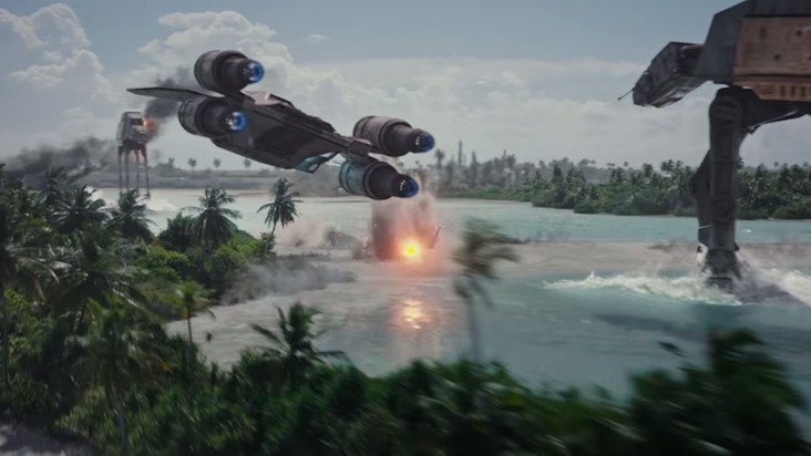 Start Rolling Your Blunts: Here's the New 'Rogue One: A Star Wars Story' Trailer