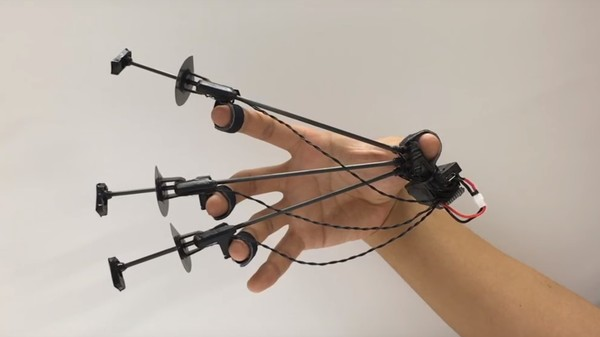 Haptic Feedback Prototype Lets You Grasp Objects in VR