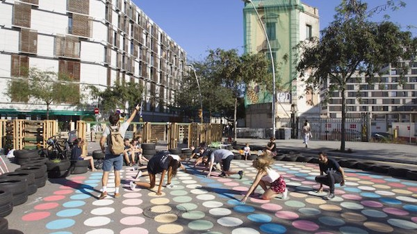 Barcelona Wants to Push Cars Out and Reclaim Roads as Public Space