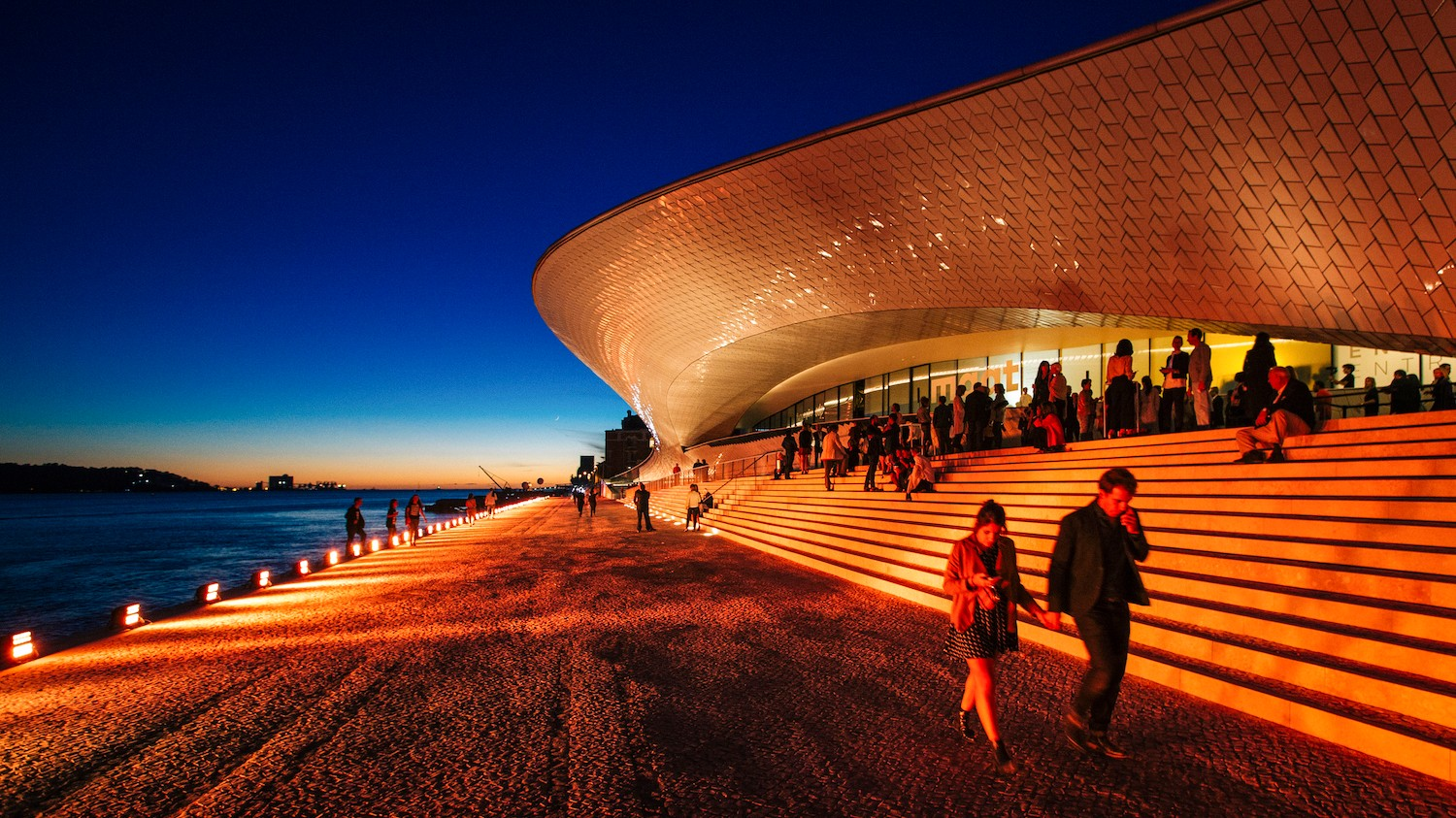 Lisbon's New Technology Museum Is a Fine Piece of Sci-Fi Architecture