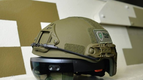 Microsoft's HoloLens Could Go to War