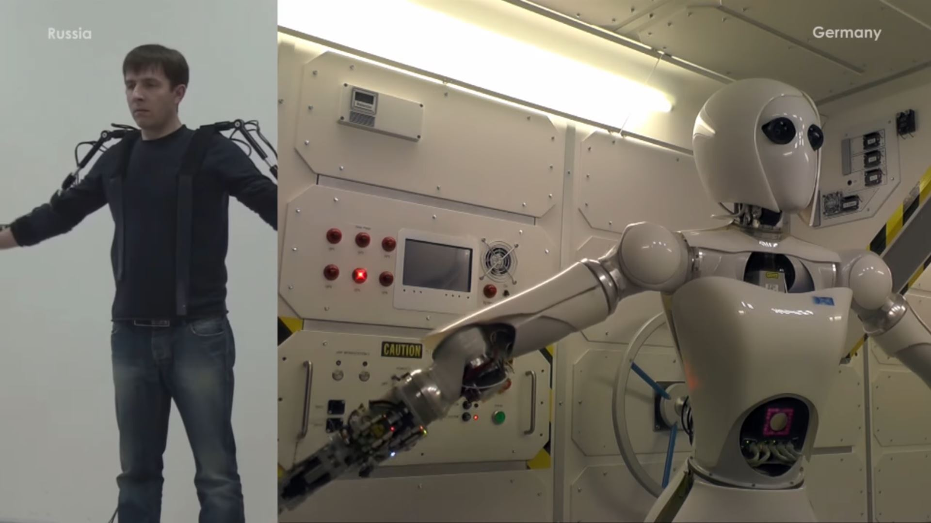 Meet Aila, The German Robot Controlled From Russia With An