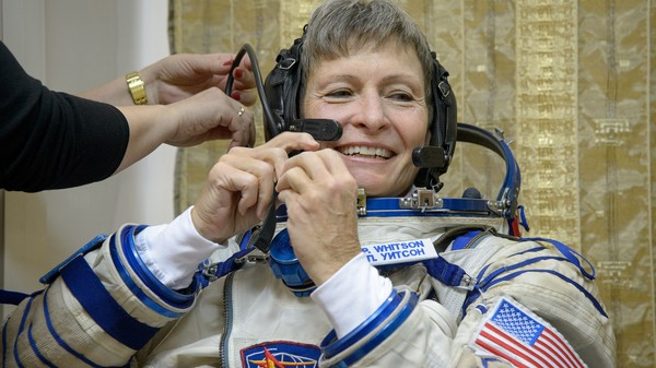 Watch the First Female Commander of the Space Station Blast Off Today