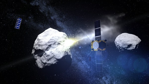 Why ESA Scientists Really Want to Crash a Satellite into an Asteroid