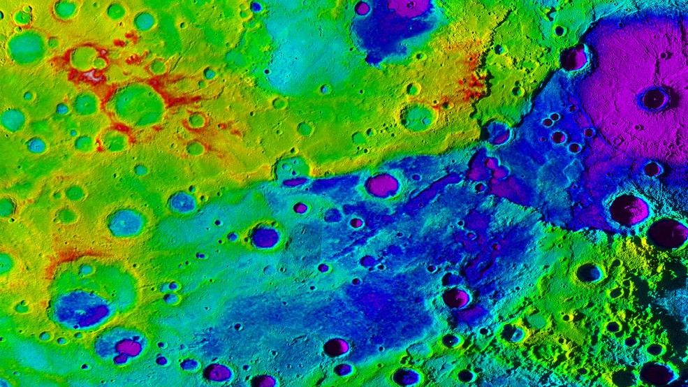 Newly Discovered Valley on Mercury Is Larger than the Grand Canyon