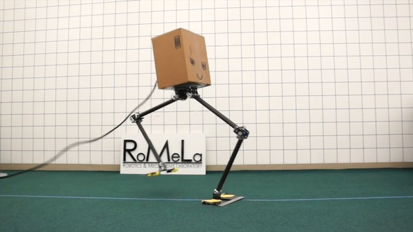 Bipedal Robots Are Better at Walking Sideways