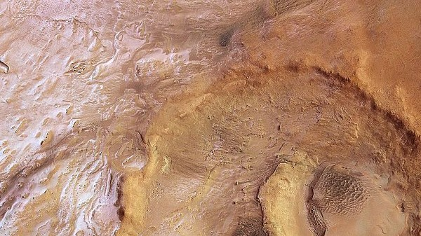 There's Enough Ice Water On Mars to Fill Lake Superior