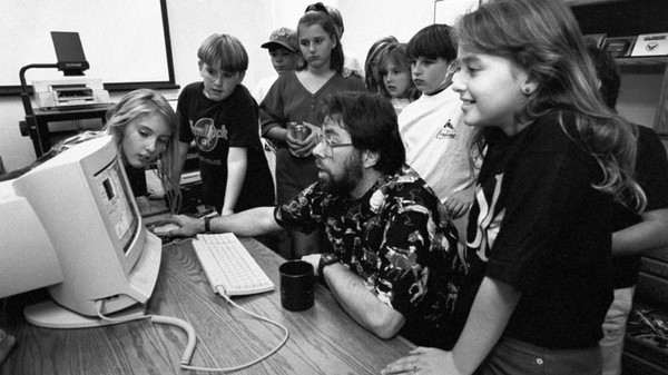 Steve Wozniak Was My Computer Teacher in 1995