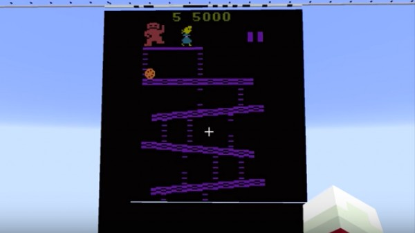 Someone Built an Atari 2600 Inside 'Minecraft'