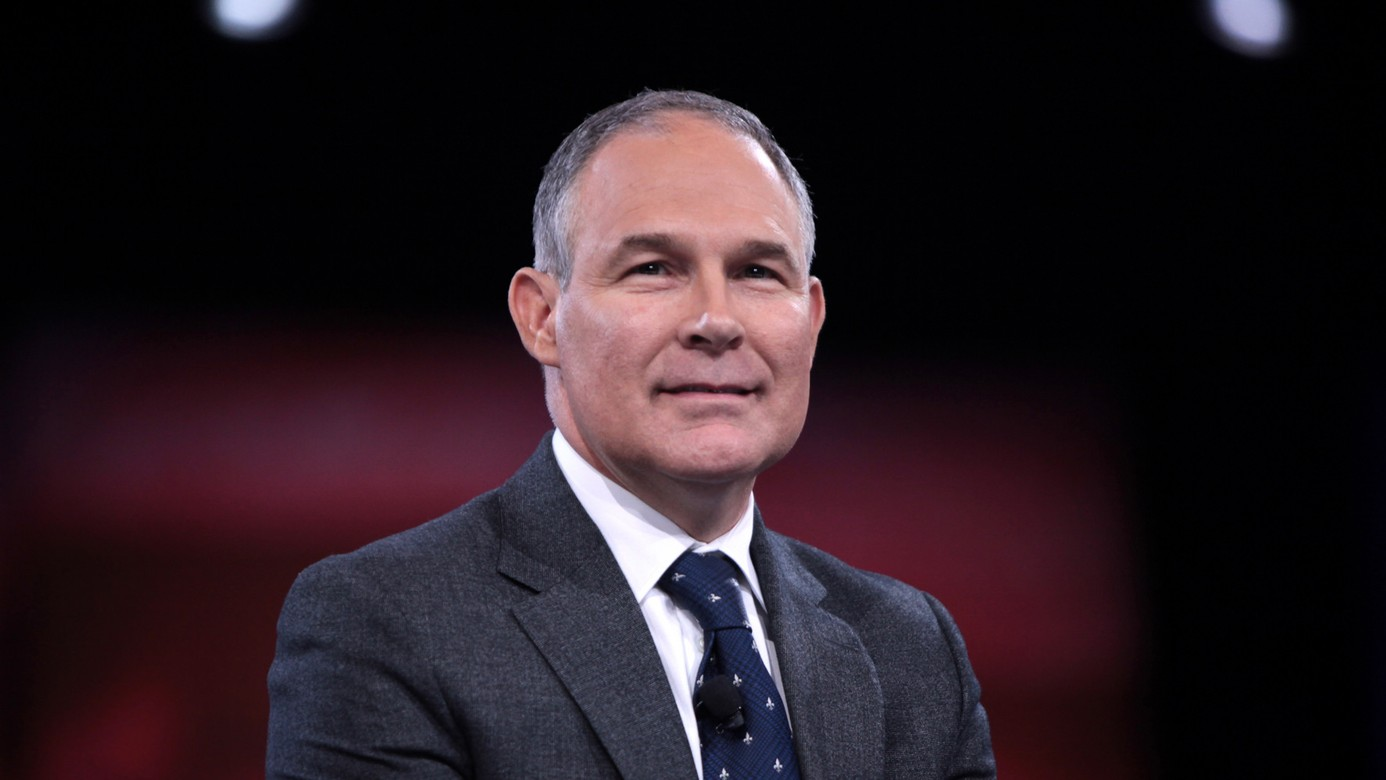 Trump's EPA Pick Is a Shill For the Oil Industry