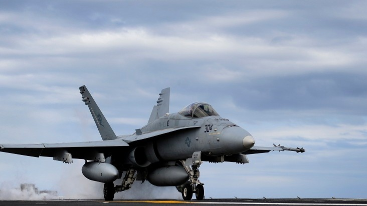 The Military's Hornet Fighters Are Falling Out of the Sky