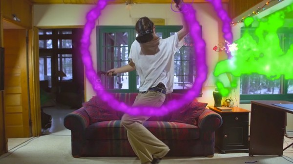 A Guy Dances With Google's VR Paintbrush and It's Surprisingly Emotional